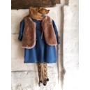 Robe bleue bohême
